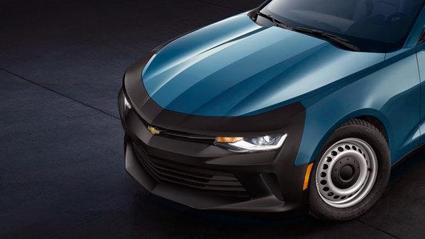 Cam aşa ar arăta un Chevrolet Camaro chel dacă americanii ar fi zgârciţi