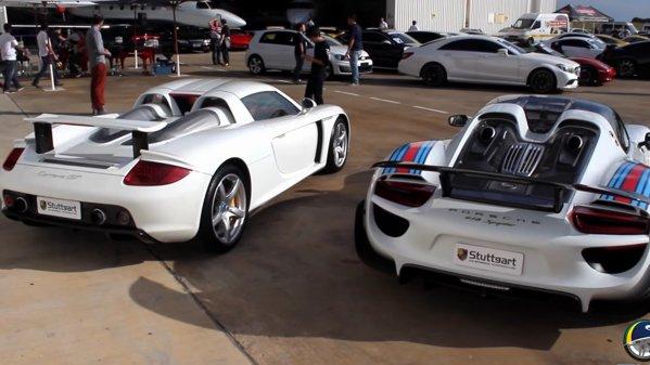 Dacă vrei să vezi diferenţa a 10 ani de super-Porsche, uită-te la clipul ăsta scurt