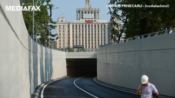 Pasajul de la Piaţa Presei, inaugurat. Cum se circulă în zonă