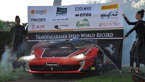 Un italian vrea să stabilească un record mondial de viteză pe Transfăgărăşan cu un Ferrari