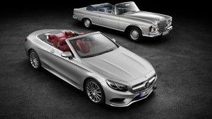 Mercedes-Benz S-Class Cabriolet (2015): imagini şi informaţii oficiale