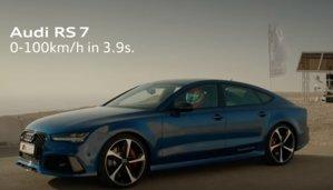 VIDEO Audi RS7 Vs Burj Khalifa