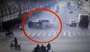 VIDEO. Cel mai ciudat accident a avut loc în China