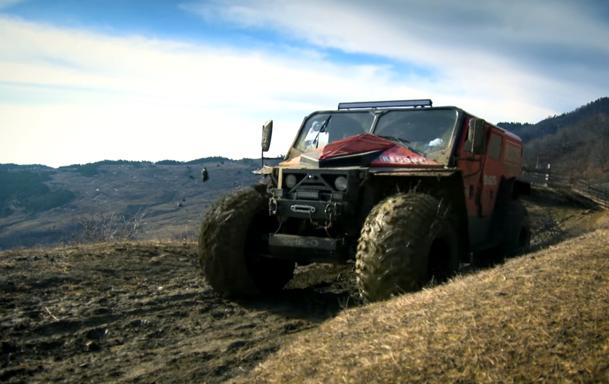"""""""Monstrul"""" Ghe-O Rescue - O maşina 100% românească, pregătită pentru orice (VIDEO)"""
