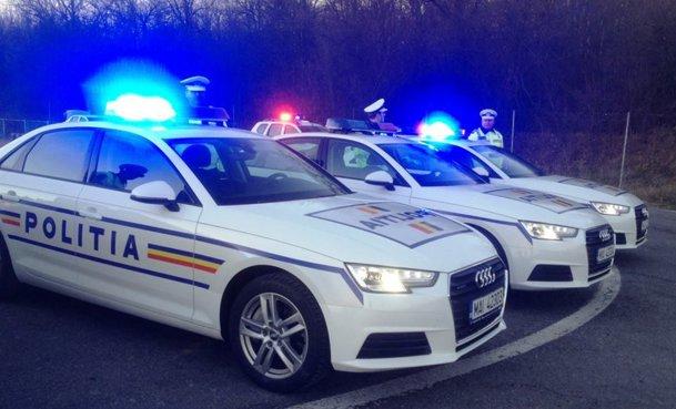 VIDEO - FOTO. Flota de lux a Poliţiei Române