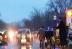 VIDEO. Bobotează 2016. Preot care sfinţeşte maşinile în trafic cu antemergător de la Poliţie