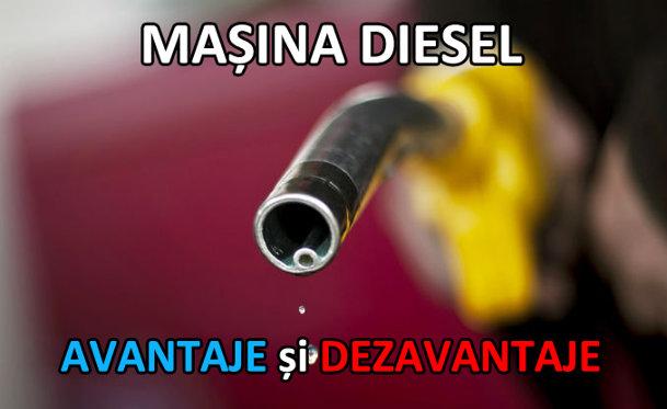 Proprietar de diesel: AVANTAJE ŞI DEZAVANTAJE