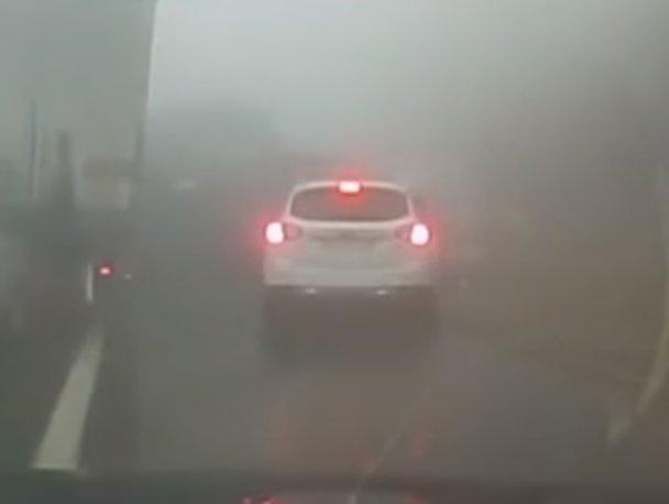 VIDEO. Înregistrarea accidentului cu 70 de maşini din Slovenia pare o scenă dintr-un film horror