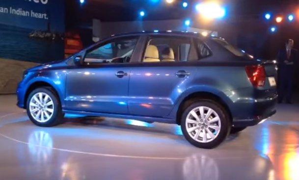 VIDEO. Noul Volkswagen Ameo costă doar 7.500 de dolari - GALERIE FOTO