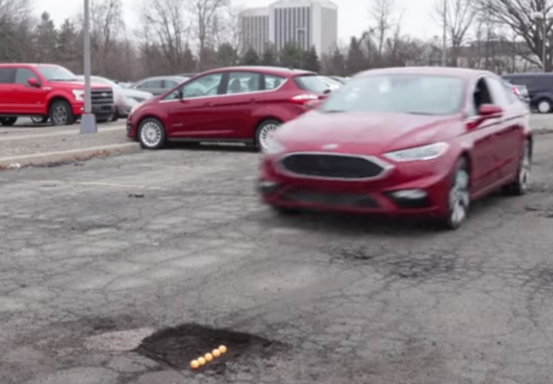VIDEO. Ford a inventat suspensia antigropi