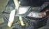 VIDEO. Soferiţă care a circulat cu un copac înfipt în capota maşinii
