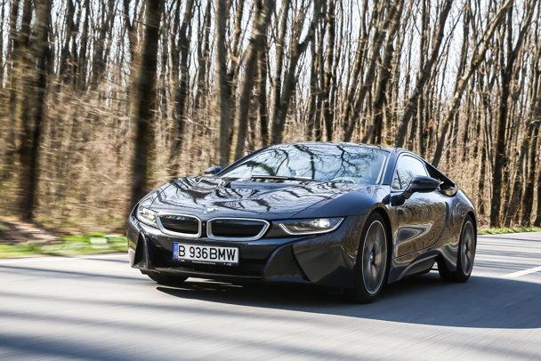 O zi cu BMW i3 şi BMW i8 - GALERIE FOTO