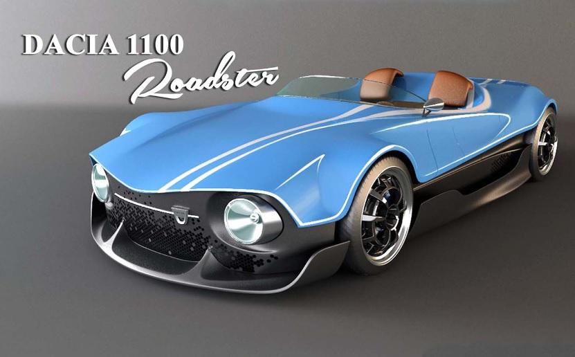 Imagini Concept 1100 Roadster Dacia 1100 Nu A Arătat