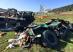 Gafă a armatei SUA: Humvee lansate din avion făcute praf, după ce paraşutele nu s-au deschis - VIDEO