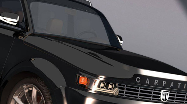 Noul concept SUV Aro Carpatic: jeep-ul românesc n-a arătat niciodată atât de bine - GALERIE FOTO