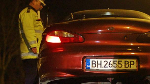 Şoferii ale căror maşini sunt înmatriculate în Bulgaria ar putea avea surprize
