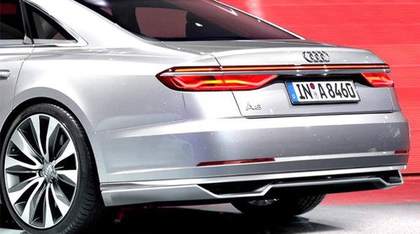 Primele imagini oficiale cu Audi A8. Din orice unghi l-ai privi e fantastic. GALERIE FOTO