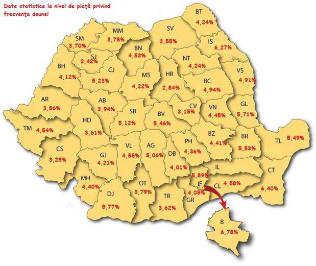 Harta Soferilor De Cosmar Din Romania Promotor