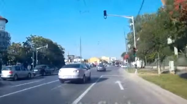 Testul elanului, aplicat în traficul din Timişoara | VIDEO