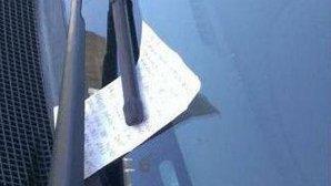 Noua metodă de ţepuit şoferi: amenda pentru parcare falsă