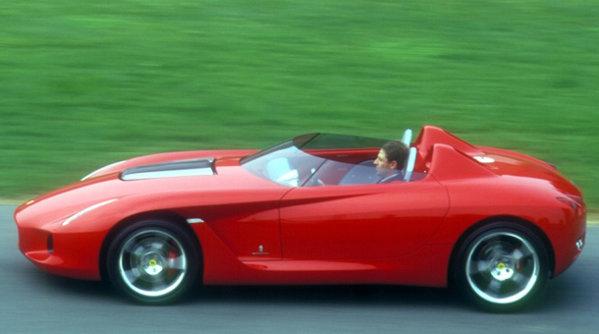 Ferrari Rossa - Conceptul care le-a avut pe toate, mai puţin norocul - GALERIE FOTO