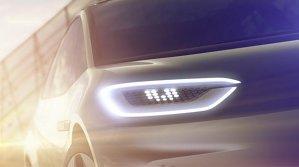 Mash-up între Up! şi Golf. Primele schiţie oficiale cu viitorul Volkswagen electric - FOTO