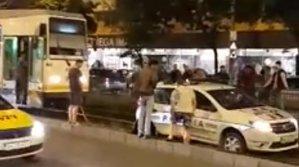 """Poliţia în acţiune! """"Vai, mama noastră"""" este reacţia celui care a surprins momentul de neuitat - VIDEO"""
