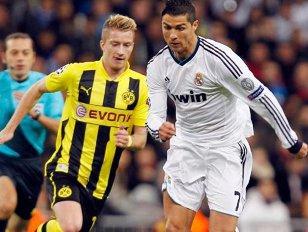 Cum arată înăuntru superautocarele din care se dau jos deseară Ronaldo şi Reus?