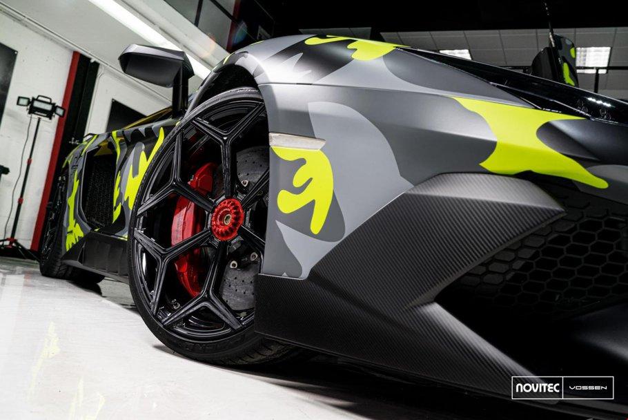 GALERIE FOTO Lamborghini tunat ne-a dat panică la cât de turbat arată!