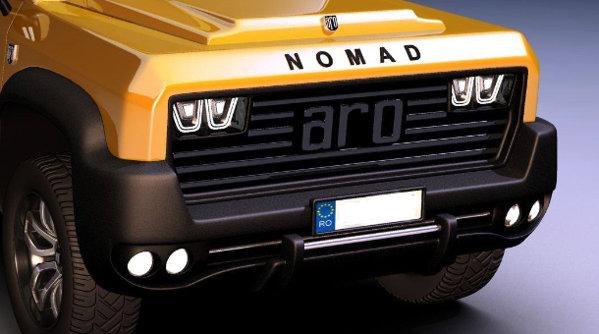 ARO respiră încă prin conceptul Nomad. Cadou de 1 decembrie [GALERIE FOTO]