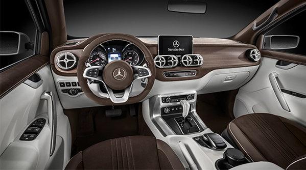 VIDEO cu noul pickup Mercedes Concept X-CLASS. Şi mai nerebdători să-l vedem în carne şi oase