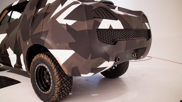 VW Amarok facelift arată ca o bestie din MAD MAX - VIDEO