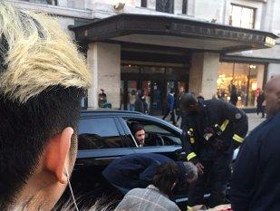 Beckham, un simplu gest la volanul limuzinei l-a transformat în eroul zilei