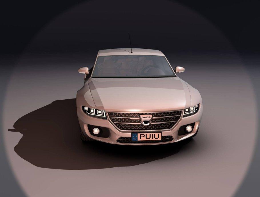 Dacia Logan Lux - Nu vă supăraţi, aţi văzut ceva mai sexy? [FOTO]