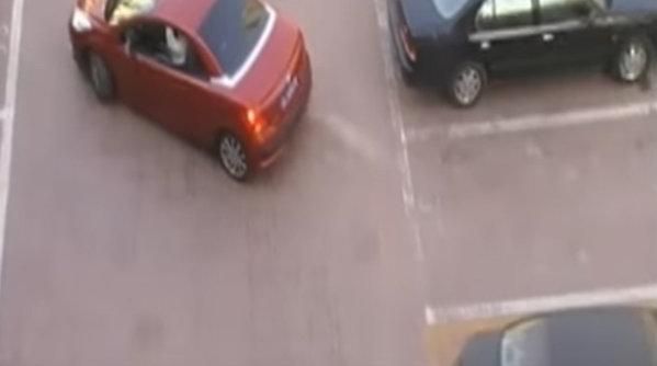 Furi locul de parcare al unei femei? Iată ce păţeşti [VIDEO]