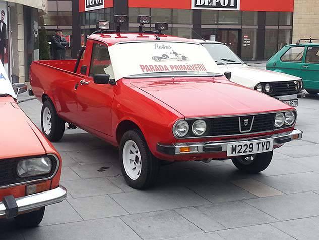 Imagini O Dacia Shifterossa Pornită După 18 Ani