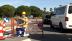 Omul a pus monopol pe un rond şi a continuat comedia în plin trafic [VIDEO]