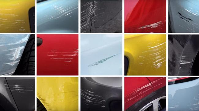 S-a lansat oja care acoperă zgârieturile de pe maşină - VIDEO