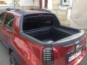 Duster pick-up cu patru uşi. Pozele spion care ne alimentează speranţa - FOTO