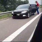 Fenomenul de pe autostrăzile României pentru care poliţiştii nu au soluţie