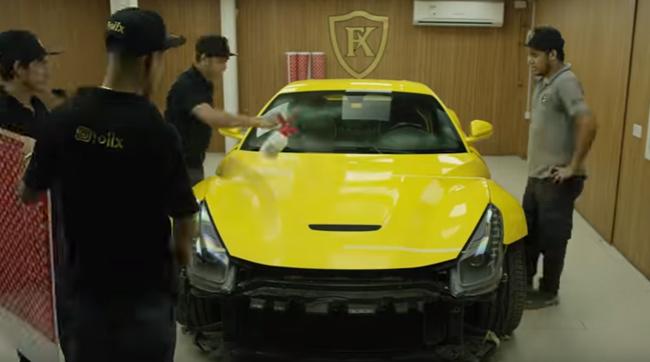 Blasfemie. Cum să masacrezi vizual un Ferrari F12 Berlinetta - VIDEO