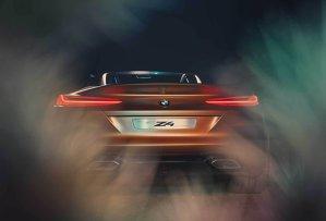 Primele poze cu conceptul care prefigurează noul BMW Z4. Iată cea mai FRUMOASĂ decapotabilă germană - GALERIE FOTO