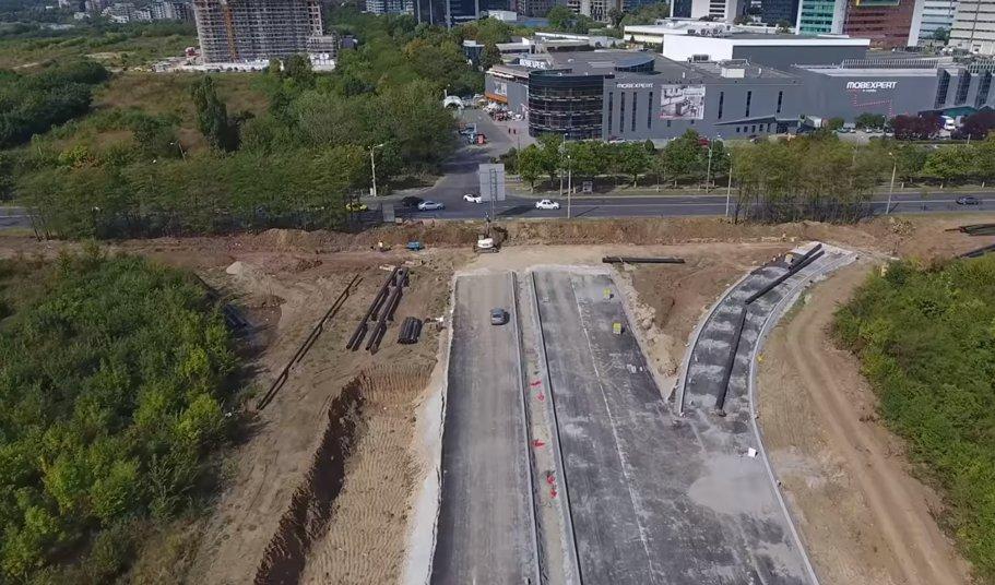 A3 (km 0-3) - Bucureşti-Voluntari, filmată din dronă - VIDEO