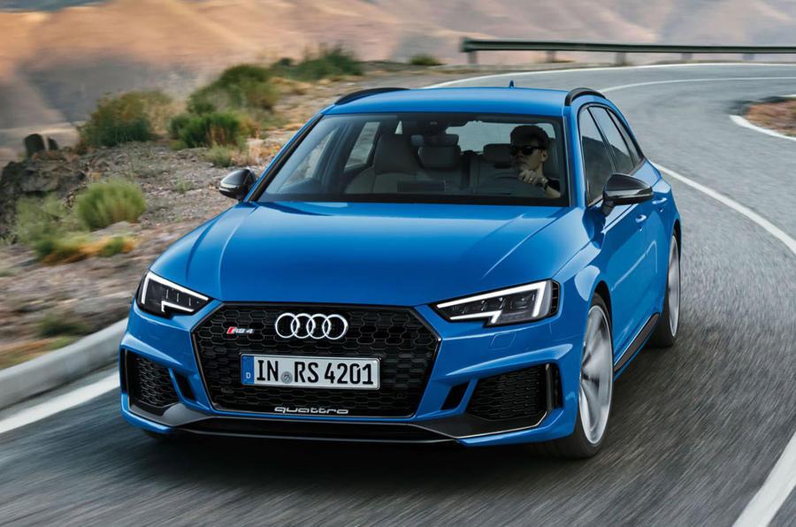 Noul Audi RS4 Avant - putere de RS şi utilitate de break, combinaţia perfectă