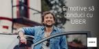 (P) Câştigă bani în timpul liber: 5 motive să conduci cu UBER