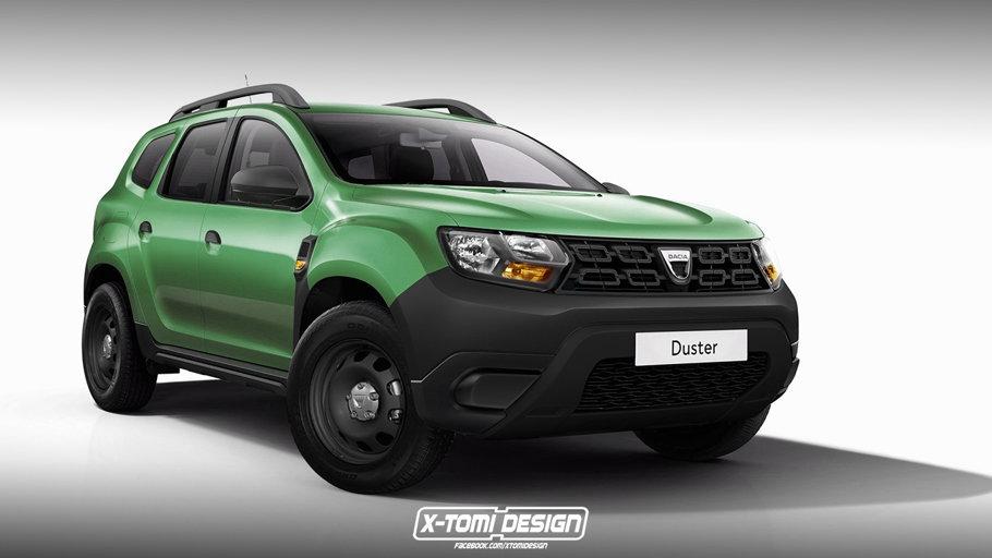 Dacia Duster, pe verde. Aşa arată cel mai accesibil SUV românesc - FOTO