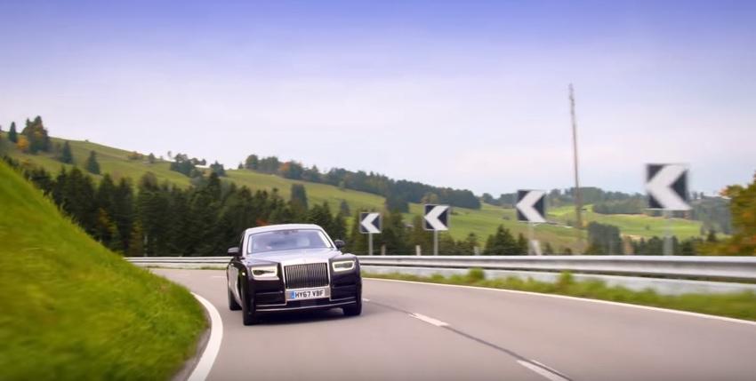 Noul Rolls-Royce Phantom (aka. Covorul Fermecat), la plimbare în Elveţia - VIDEO