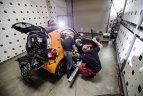 Crash test cu Mercedes Clasa S şi Smart