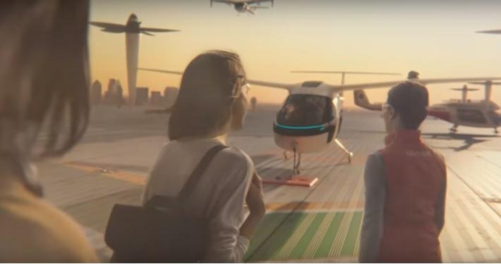 Uber şi NASA vor construi taxiuri zburătoare. Vă place sau nu, aşa arată viitorul - VIDEO