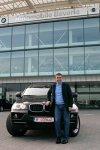 BMW-ul X5 pe care îl deţinea Hagi în 2007